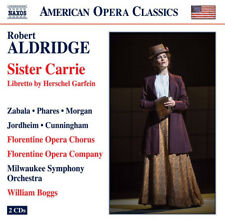 Robert Aldridge : Robert Aldridge: Sister Carrie CD (2017) ***NEW***