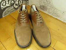 """Bass Suede Saddle Oxford """"Frontier"""" Made In Brazil 9M"""