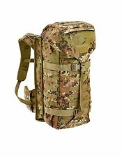 Zaino Militare Vegetato italiano DEFCON 5 con Portaoggetto Battle Back Pack