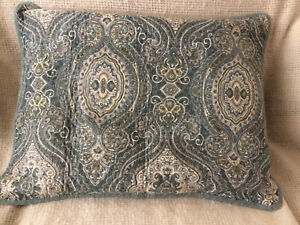 Tommy Bahama Quilted Paisley Standard Shams - Set of 2