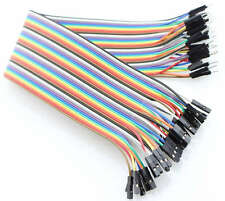 40 Dupont Prototype Cable Male/Female Macho/Hembra 200mm Arduino