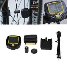 Wireless LCD Bike Computer Speed Odometer Speedometer Cycle Bicycle Waterproof
