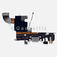 New Charging Charger Port Dock Headphone Jack Mic Gray Flex Cable for Iphone 6S