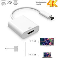 USB C(Type C) to HDMI Adapter Cable for MacBook Pro 2018/2017 iPad Pro/MacBook