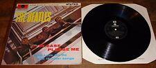 THE BEATLES ~ PLEASE PLEASE ME ~UK EMI PARLOPHONE 1976 REISSUE PRESSING VINYL LP