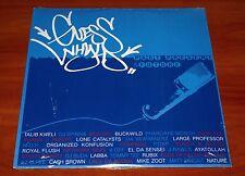 GUESSWHYLD PAST PRESENT FUTURE 2x LP VINYL HIP HOP Mos Def DJ Spinna Talib Kweli
