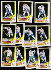 1976 O-PEE-CHEE WHA Team SET Lot of 11 Quebec NORDIQUES NM OPC TARDIFF CLOUTIER