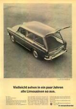 VW-VARIANT-1965-Reklame-Werbung-genuine Ad-La publicité-nl-Versandhandel
