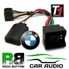 T1 Audio T1-BM4-JVC BMW 3 5 Series X5 X3 Mini Car Steering Wheel Control Adaptor