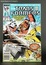 TRANSFORMERS #28 1987 Marvel Comics US G1 Mechanic vs Blaster + Goldbug