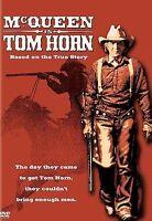 TOM HORN  DVD Steve McQueen  NEW, FREE FIRST CLASS SHIPPING !!
