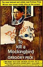 Movie Poster: To Kill A Mockingbird, Gregory Peck, 1963
