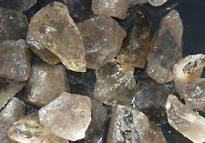 1/2 lb SMOKY QUARTZ Rough TUMBLING ROCK Tumbler Tumble