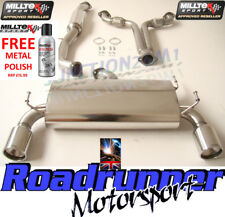 Milltek Nissan 350z exhaust CAT BACK SYSTÈME Inoxydable & Y-Section Tuyau SSXNI001
