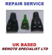 Saab 93 95 4 button smart remote key Repair Refurbishment Service