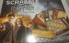 Scrabble Harry Potter Edition - Officially Licensed Family Board Game Crossword