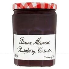 Bonne Maman Raspberry Conserve Breakfast Extra Jam Product of France Jar 750g
