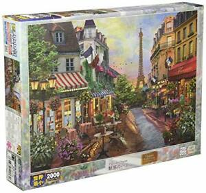 2000 Piece Jigsaw Puzzle Lure Of Paris Super Small piece (38X53Cm