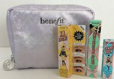 BENEFIT Make Up Cosmetic Bag LOT OF 3 NEW