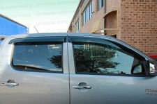 Weather shields Window Visors weathershields to suit Toyota Hilux 2005-2014