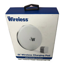 Just Wireless 5W Qi Wireless Charging Pad with Wall Adapter 6 Ft Cable New