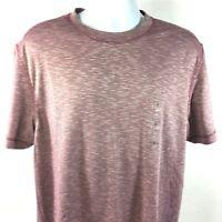 Tasso Elba Island Shirt Mens Size Large Red