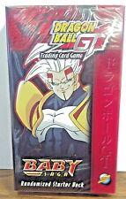 Dragon Ball Z Baby Saga 1st. Edition  one Random Starter Deck factory sealed new
