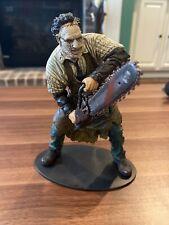 Leatherface figure movie maniacs series 7 Texas chainsaw massacre McFarlane
