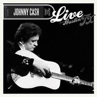 JOHNNY CASH - LIVE FROM AUSTIN TX (CD+DVD)   CD+DVD NEW!