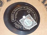4954 4953 disque PATHE le regiment de SAMBRE et MEUSE hosanna DANGES orchestre