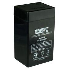 6 Volt, 2 Ah Sealed Lead Acid Battery [SLA-6V2]