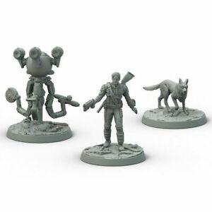 Fallout Wasteland Warfare- Survivors Heroes of Sanctuary Hills NEW miniatures