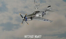 Short Fuse Sallee P-51 Mustang USAF Christmas Ornament Airplane Aircraft P51D