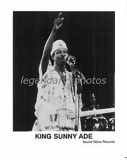 King Sunny Ade   Sound Wave Records Original Music Press Photo