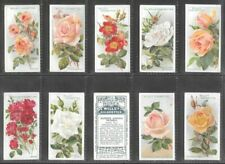 "WILLS 1912 COLOURFUL ( FLOWER ) FULL 50 CARD SET  """"  ROSES 1st SERIES  """""