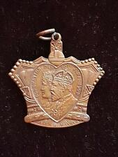 KING EDWARD VII & QUEEN ALEXANDRA CORONATION DAY MEDAL CHILDREN'S FETE GLASGOW