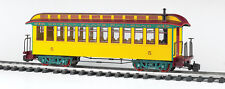 Bachmann 97205 Grizzly Flats Coach With Full Interior, Lighted, Metal Wheels NEW