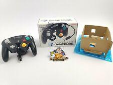 Nintendo Gamecube Controller Schwarz | Game Cube | Ovp | Pal | * Top Zustand