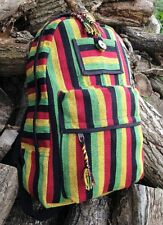 RASTA BOHO HIPPY BACKPACK BAG HIPPIE BEACH HANDBAG SHOULDER FESTIVAL RUCKSACK