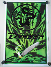 Pass the Dragon / Black Light Velvet Poster #3371 / New with 2 creases - 23x35""