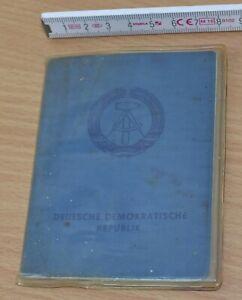 original DDR Personalausweis, männlich, 1980, ungültig