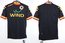 2012-2013 AS ASR Roma Football Jersey Shirt Maglia Third Black WIND Kappa S BNWT