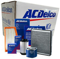 Service Filter Kit Acdelco for Toyota Landscruiser 1HZ 1HD-FTE 4.2l 1990-2007 AC