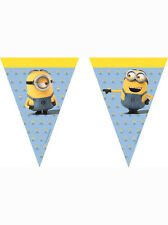 Universal 55580 Lovely Minions Party Decoration Banner Triangle Flag