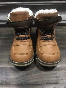 Toddler Brown Boots Size 7