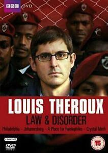 Louis Theroux: Law And Disorder 2-Disc Dvd Brand New & Factory Sealed (2009)