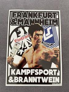Eintracht Frankfurt / Waldhof Mannheim / Sticker / Aufkleber / SGE / Ultras
