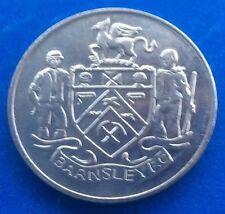 BARNSLEY  FA CUP CENTENARY  (1872  - 1972 ) ESSO COIN / MEDAL