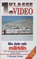 """VHS VIDEO FILM """"UN ANNO CON Märklin - 1996-die di altezza i punti di un modello Ferrovia ANNO"""""""