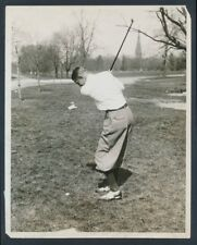 """1929 Horton Smith, """"Young Professional Golfer"""" Large Photo from Ryder Cup"""